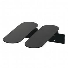 Range-chaussures noir au design scandinave
