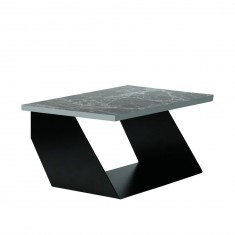 Table de lit design noire