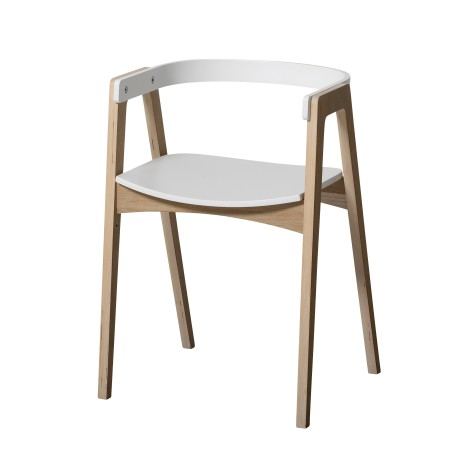 Chaise évolutive Wood avec accoudoirs