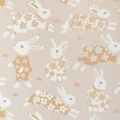 Papier peint motifs lapins
