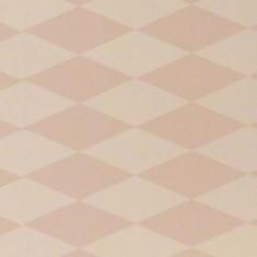 Papier peint graphique vieux rose et beige