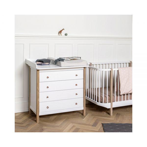 plan langer pour commode wood oliver furniture. Black Bedroom Furniture Sets. Home Design Ideas