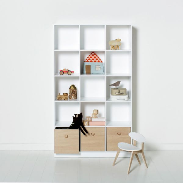 etag re biblioth que enfant oliver furniture. Black Bedroom Furniture Sets. Home Design Ideas