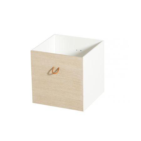 Lots de boîtes de rangement réversibles Wood