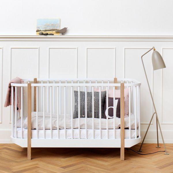 Lit bébé évolutif 70x140 Wood