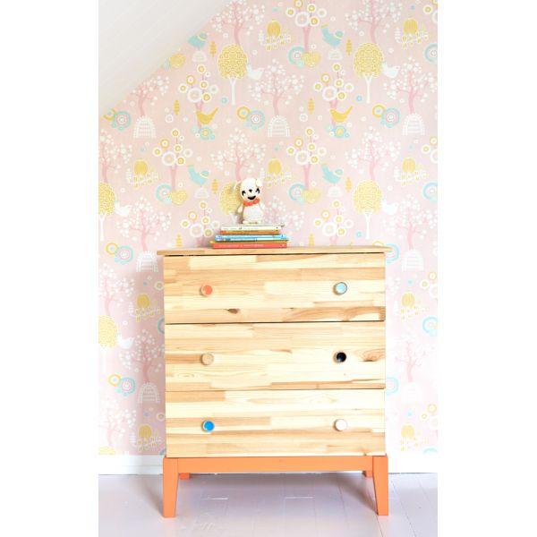 Papier peint pour chambres de gar ons ou de filles - Papier peint pour chambre fille ...