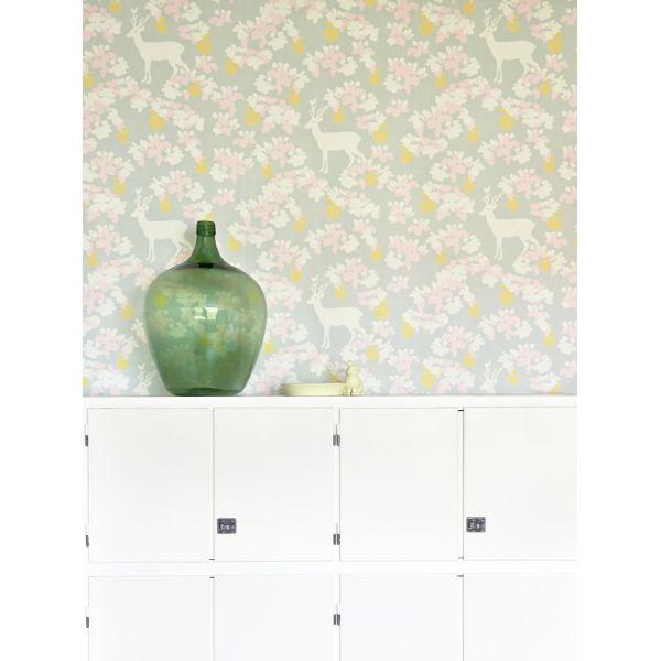 papier peint vintage cologique pour enfants ou adultes. Black Bedroom Furniture Sets. Home Design Ideas