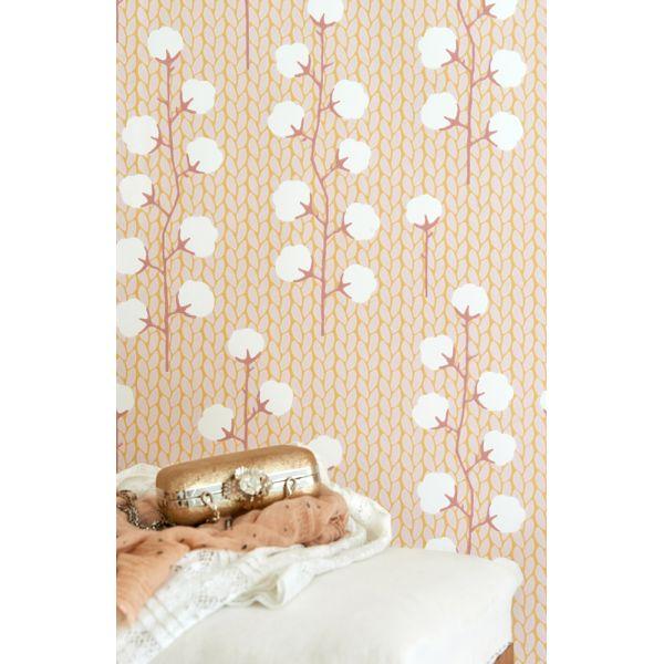 papier peint intiss r tro et l gant. Black Bedroom Furniture Sets. Home Design Ideas