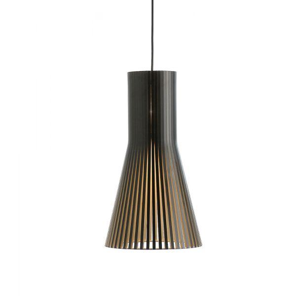 Lustre en bois scandinave clairage apaisant et l gant for Lampe plafond design
