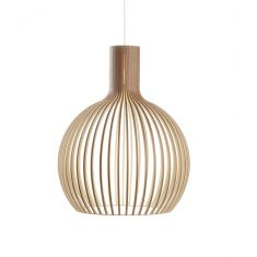 suspension design scandinave bois noyer