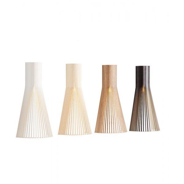 Applique Bois Secto Lampe écologique Led Fabriquée En Finlande