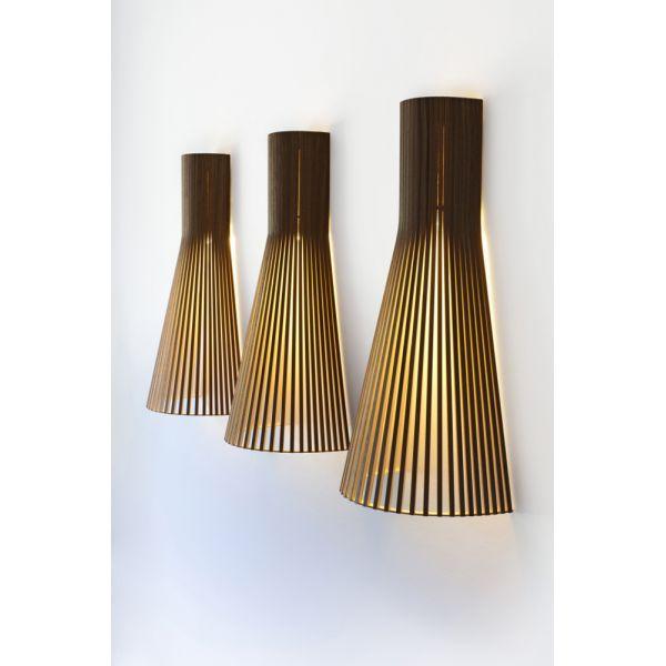 Top Applique bois Secto, lampe écologique LED fabriquée en Finlande UF93