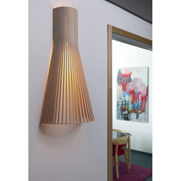 applique bois secto lampe cologique led fabriqu e en. Black Bedroom Furniture Sets. Home Design Ideas