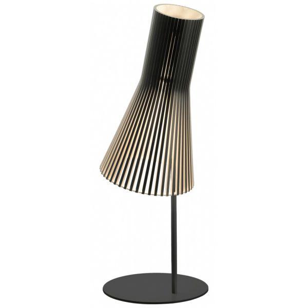 Lampe De Bureau Ecologique En Bois Et Pied En Metal Design Contemporain
