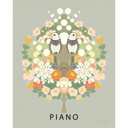 Poster Piano