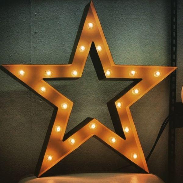 Lampe Etoile Ou Applique Murale Design Personnalisable