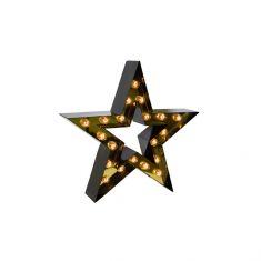 étoile lumineuse vintage Cirkuslampan