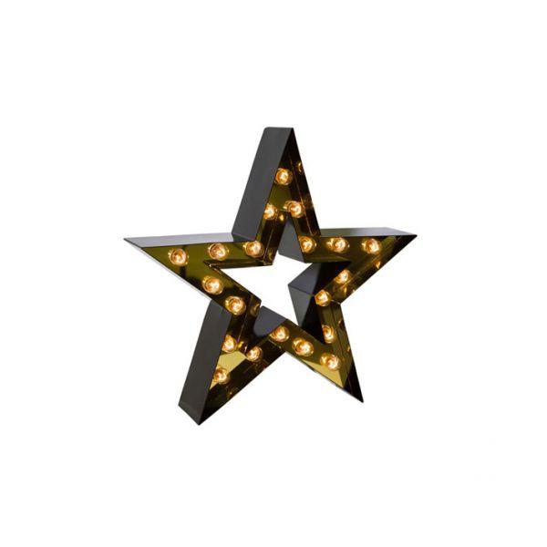 Lampe étoile ou applique murale design personnalisable