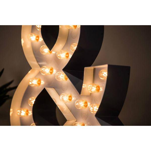 Caractère lumineux & (esperluette) pour décorer et illuminer votre ...