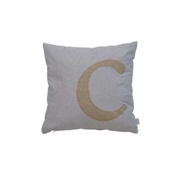 coussin personnalis avec le pr nom ou message de votre choix coussin carr 40x40. Black Bedroom Furniture Sets. Home Design Ideas
