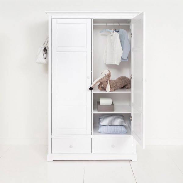 Armoire et dressing pour chambre d\'enfant, design moderne scandinave