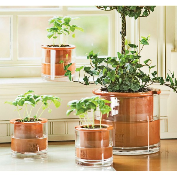 wet pot pot autosuffisant pour vos plantes et fleurs. Black Bedroom Furniture Sets. Home Design Ideas