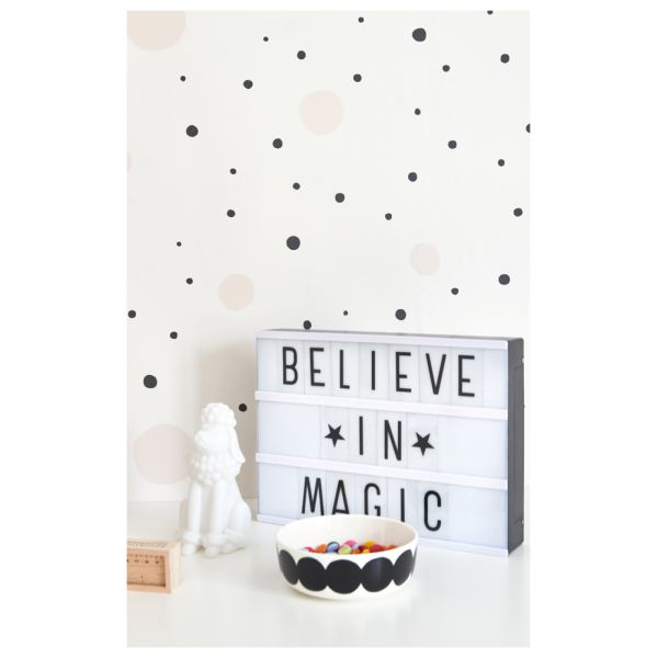 stunning papier peint blanc pois noirs images. Black Bedroom Furniture Sets. Home Design Ideas