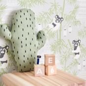 papier peint animaux chambre d'enfants