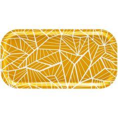 plateau jaune en bois wings