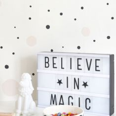 papier peint chambre ado Confetti Majvillan