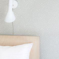 papier peint chambre à coucher gris