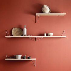 étagère bois métal design minimaliste