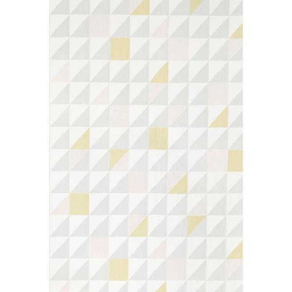 Papier Peint Intisse Geometrique Scandinave Design Chic Et Graphique