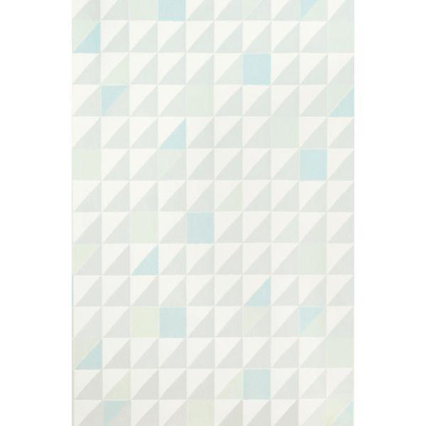 beautiful papier peint bleu geometrique pictures amazing house design. Black Bedroom Furniture Sets. Home Design Ideas