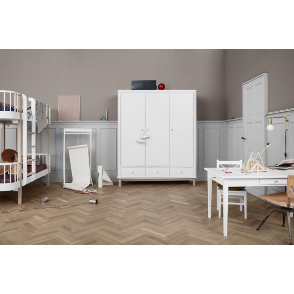 Armoire Scandinave 3 Portes Pour Chambre D Enfant Oliver Furniture