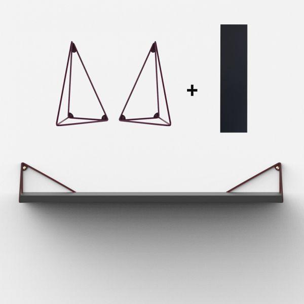 Étagère suédoise design, parfaite pour compléter une étagère string