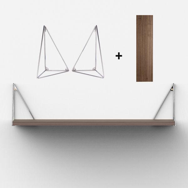 Etag re su doise design parfaite pour compl ter une for Equerres pour etageres murales