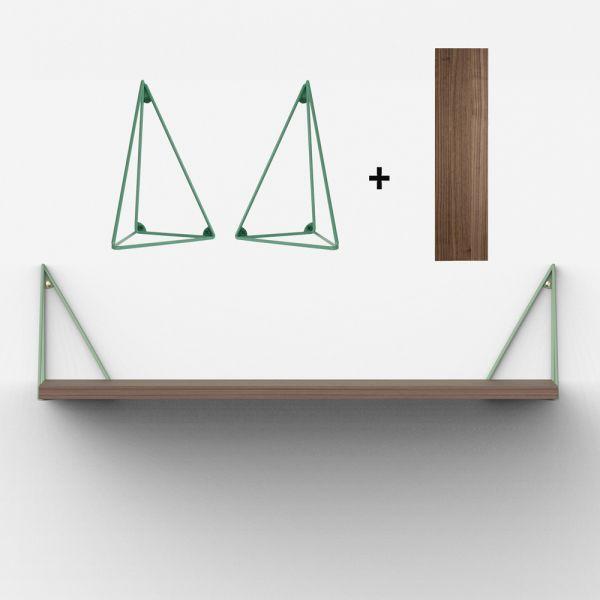 Etag re su doise design parfaite pour compl ter une for Fixation pour etagere murale