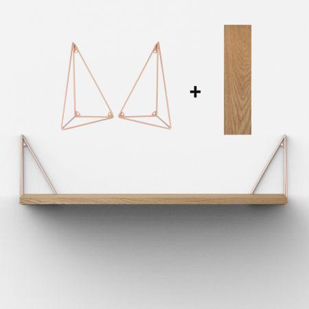Kit étagère + équerres Pythagoras