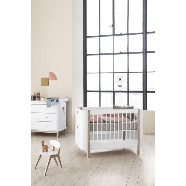 Lit bébé évolutif de 0 à 9 ans Oliver Furniture-design danois