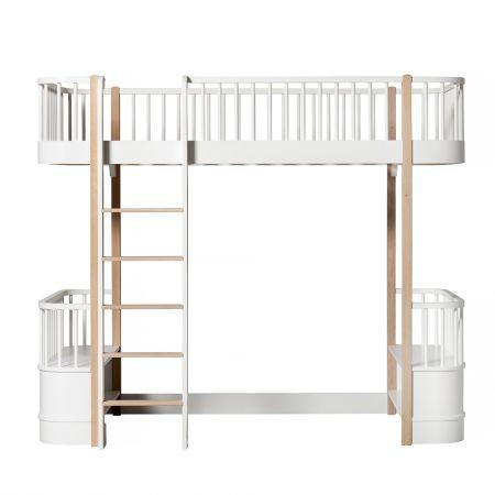 Lit mezzanine 90x200 Wood