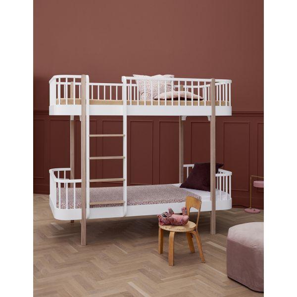 lit superpos volutif pour enfants design cologique en bois massif. Black Bedroom Furniture Sets. Home Design Ideas