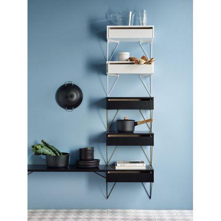 etagere murale tiroir design