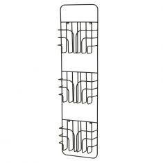 Porte-magazine métallique blanc