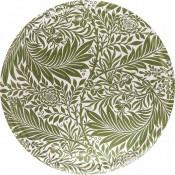 Plateau design scandinave rond motif végétal