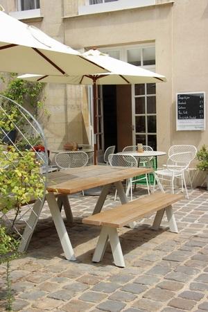 Terrasse café suédois
