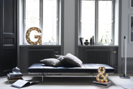 lettres lumineuses design scandinave