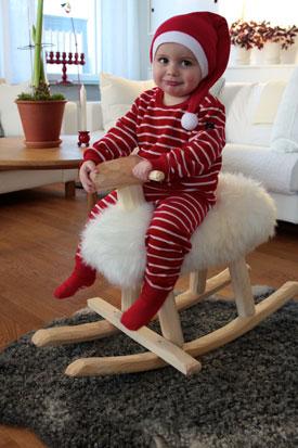 Mouton à bascule Emil, artisanat nordique