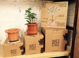 Pot à réserve d'eau
